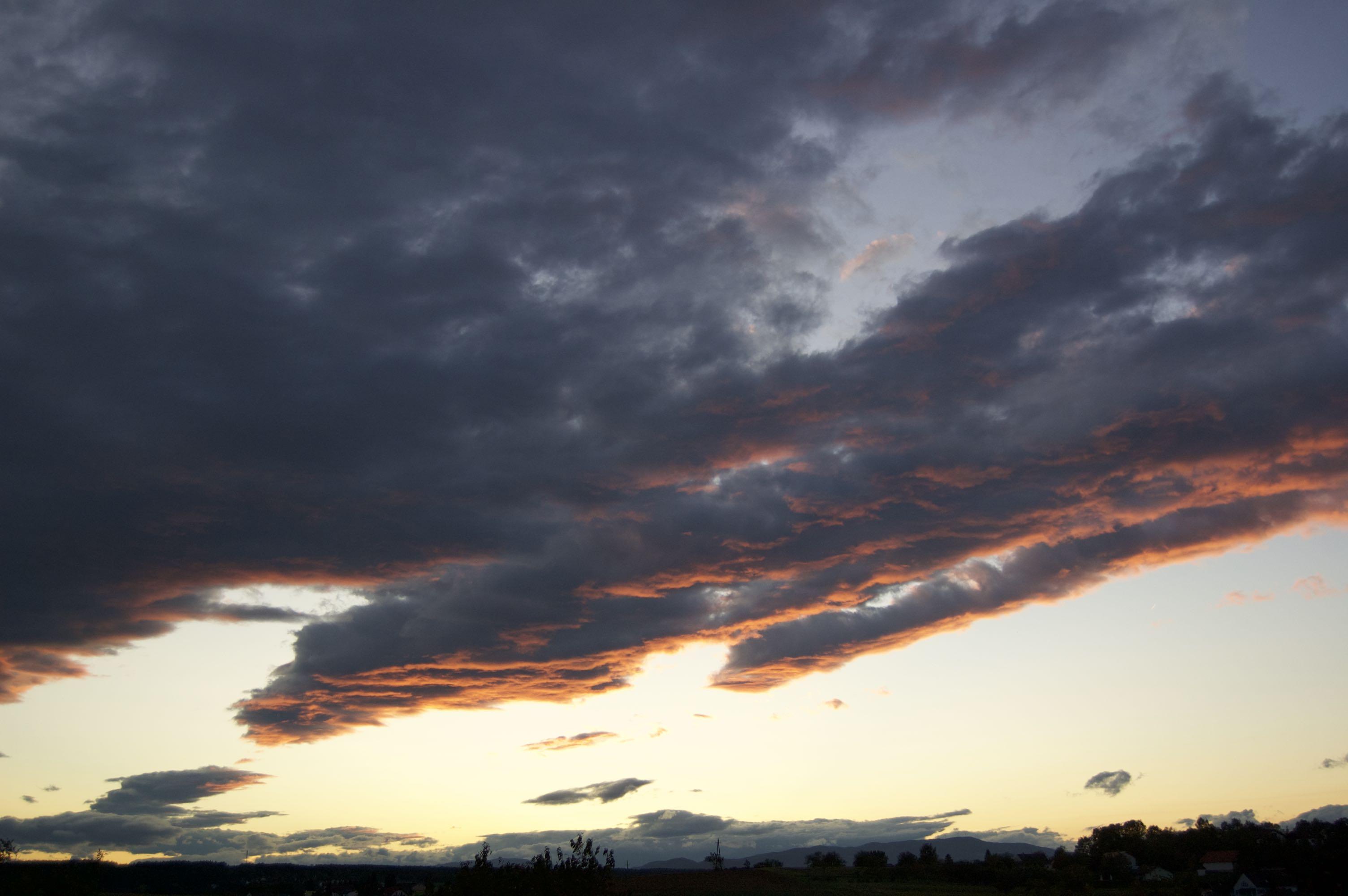 Himmel mit Abendstimmung
