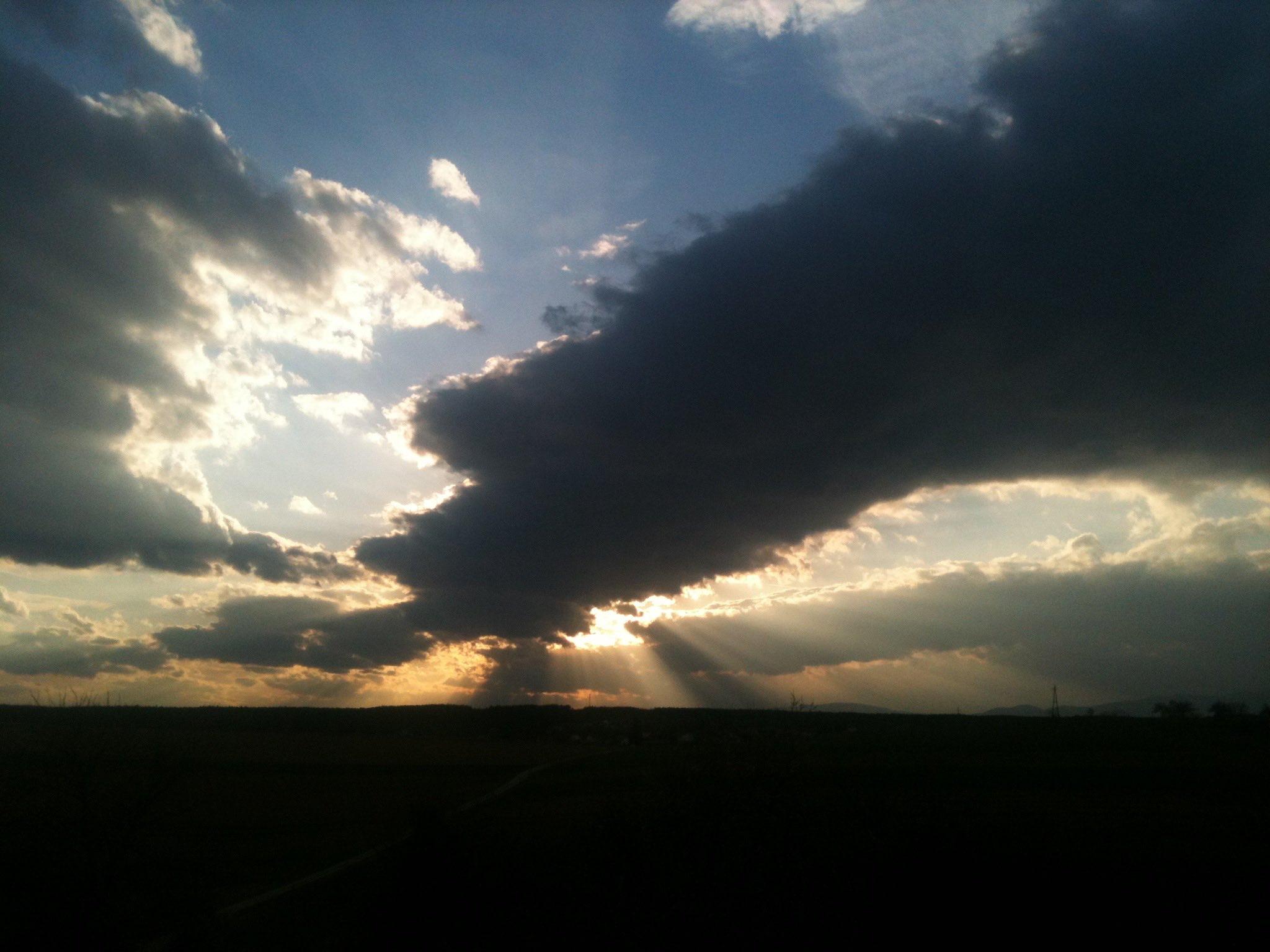 abendliche Stimmung am Himmel